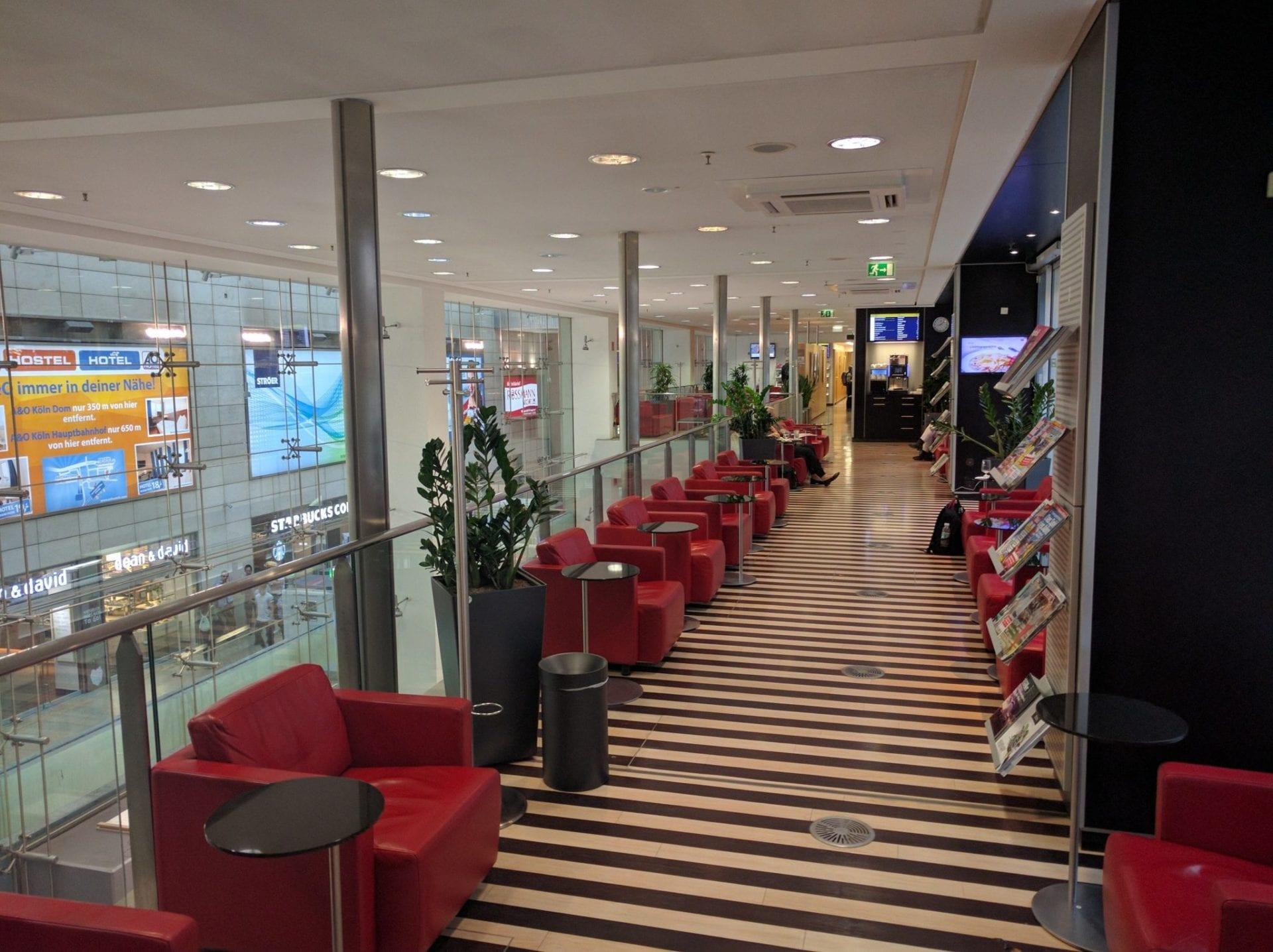 DB Lounge Köln 1. Klasse Bereich