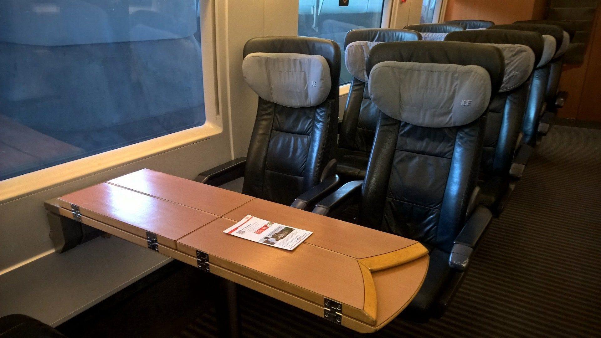 Deutsche Bahn 1. Klasse 2