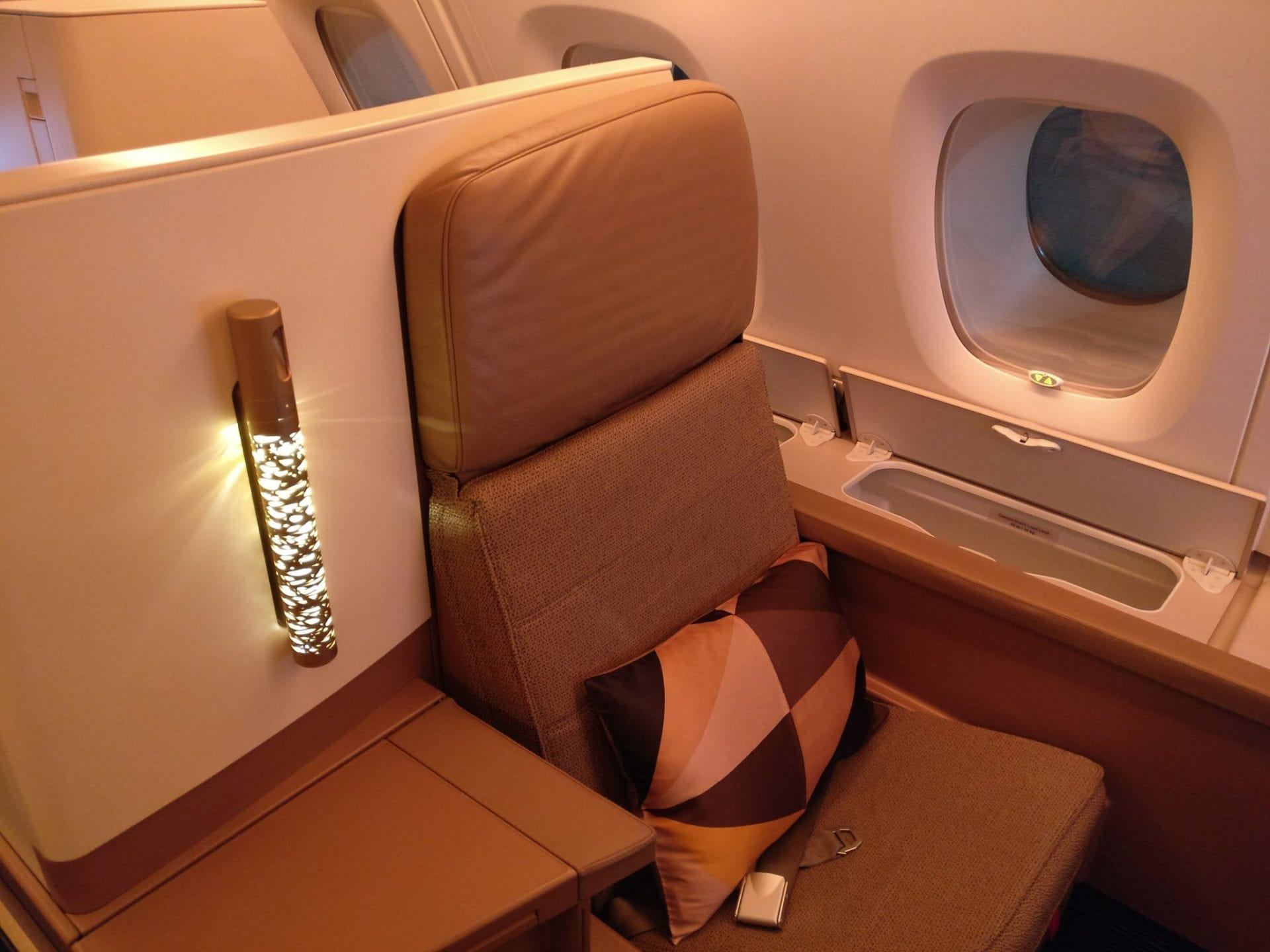 Etihad Airways Airbus A380 Business Class