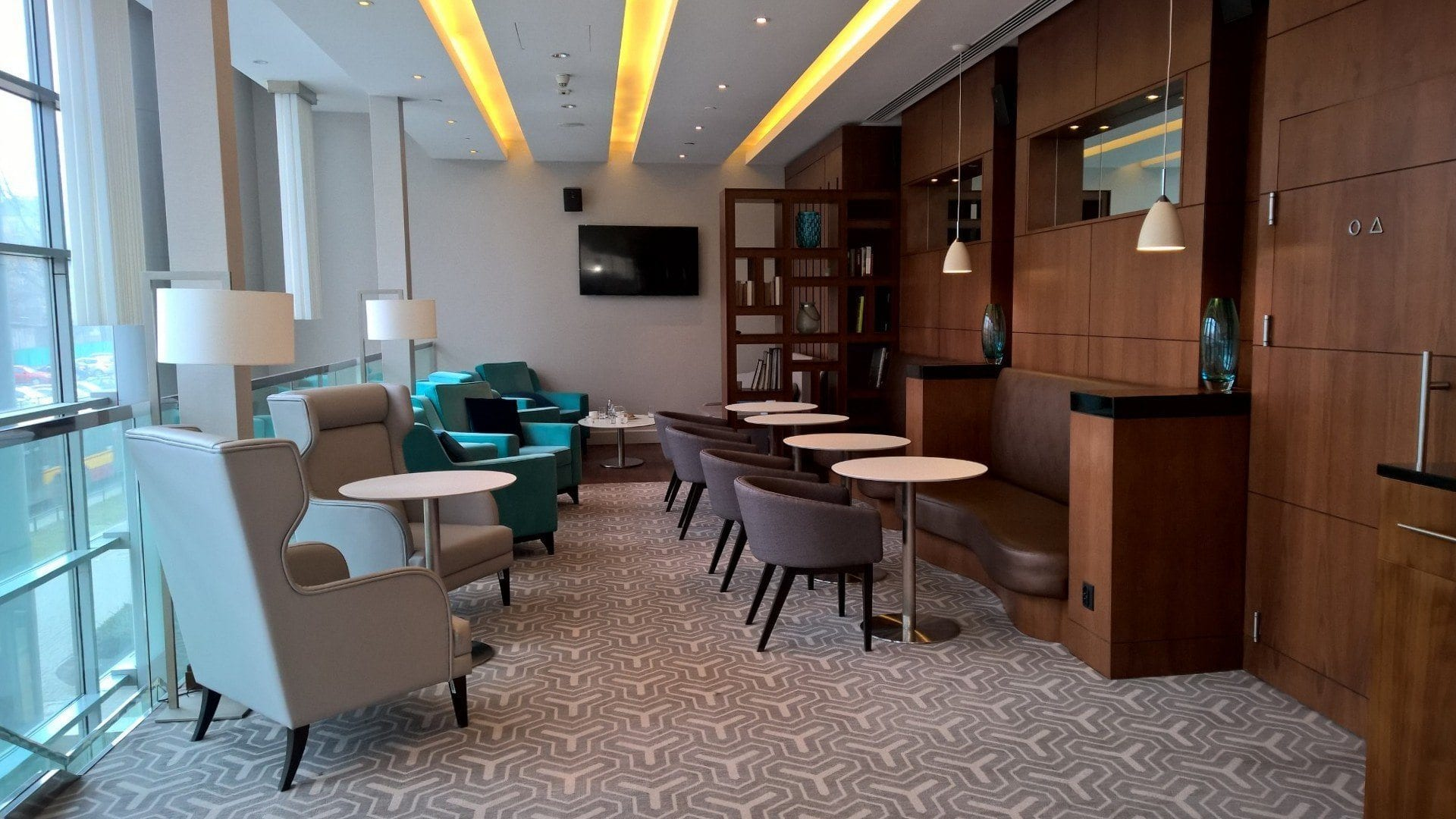 Executive Lounge Seating Area 2