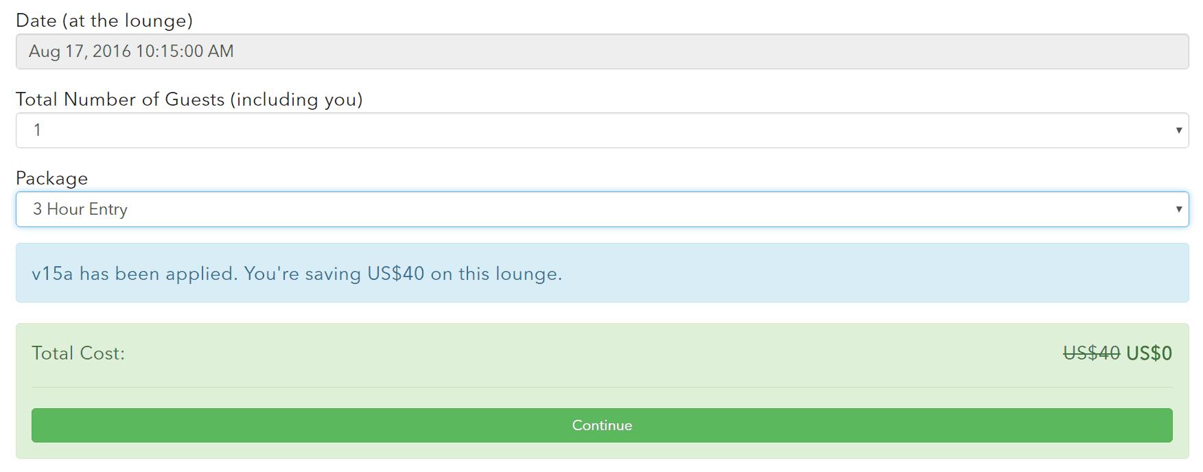 LoungeBuddy Purchase