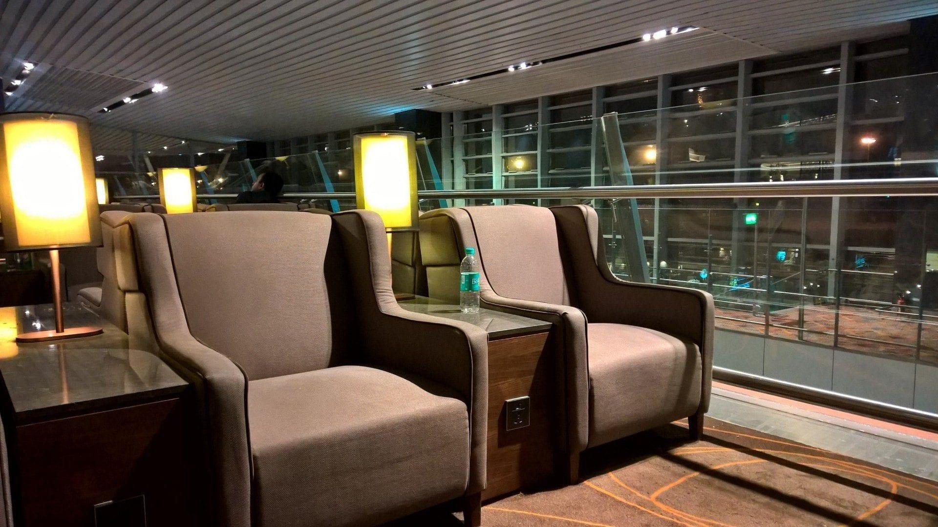 Seating Plaza Premium Lounge Bengaluru