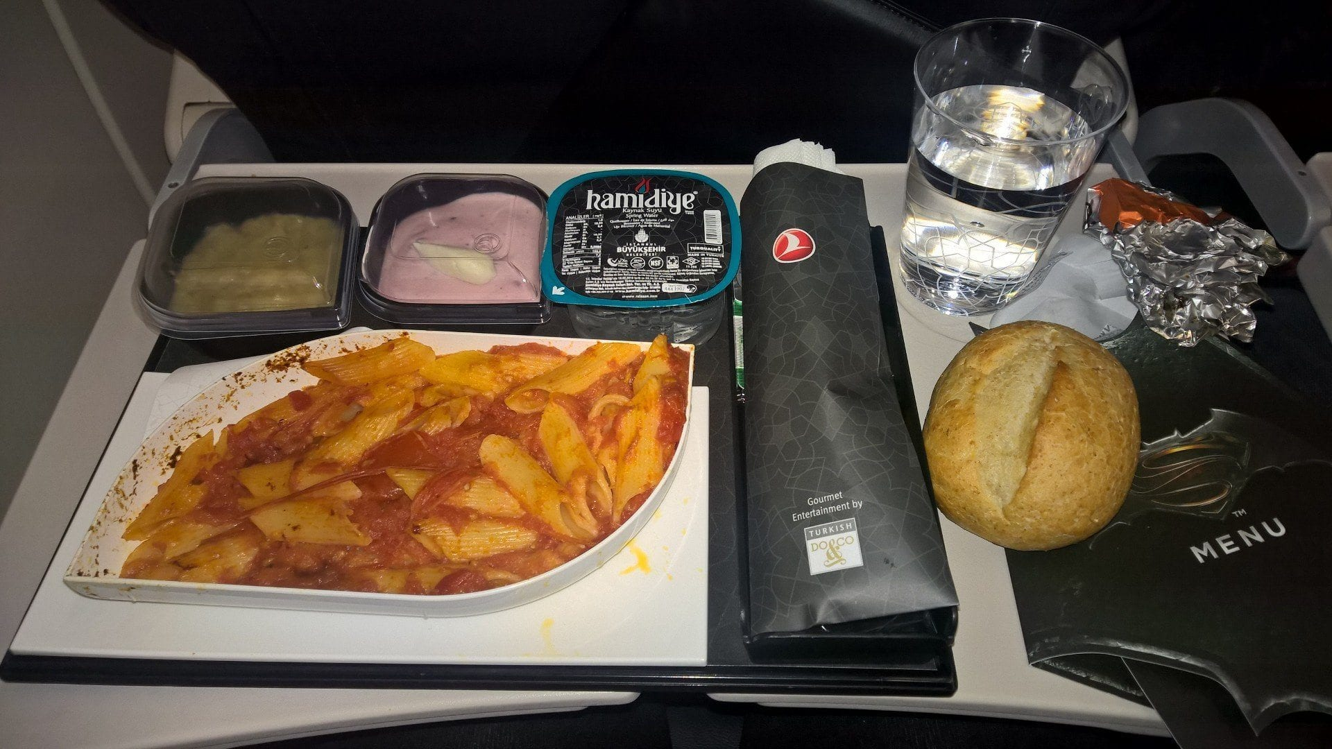 Turkish Airlines Economy Class Essen