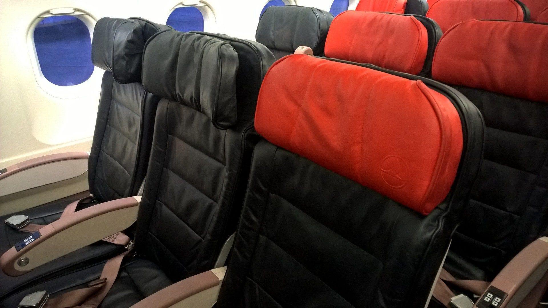 Turkish Airlines Economy Class Sitz
