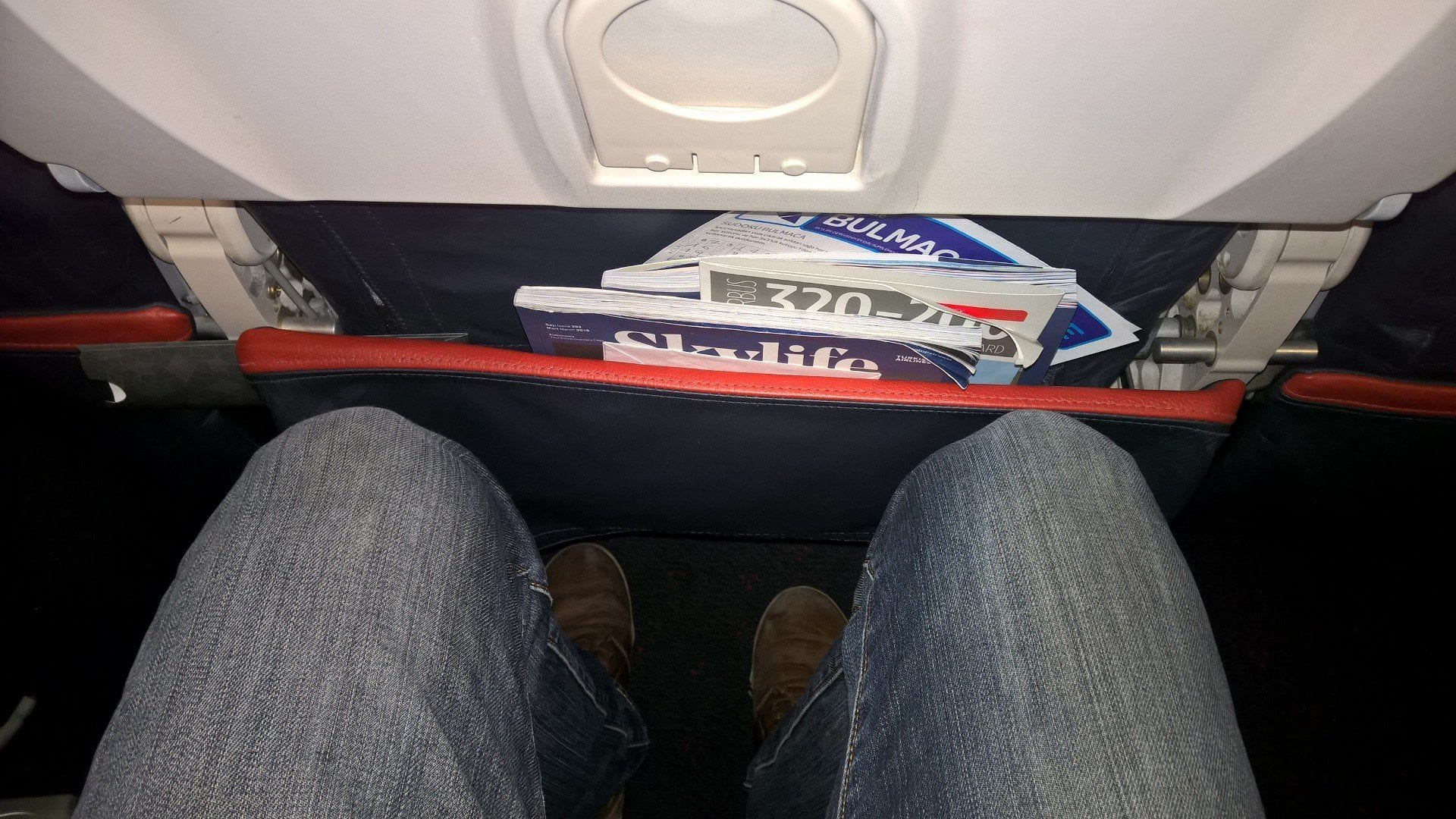 Turksih Airlines Economy Class Sitzabstand