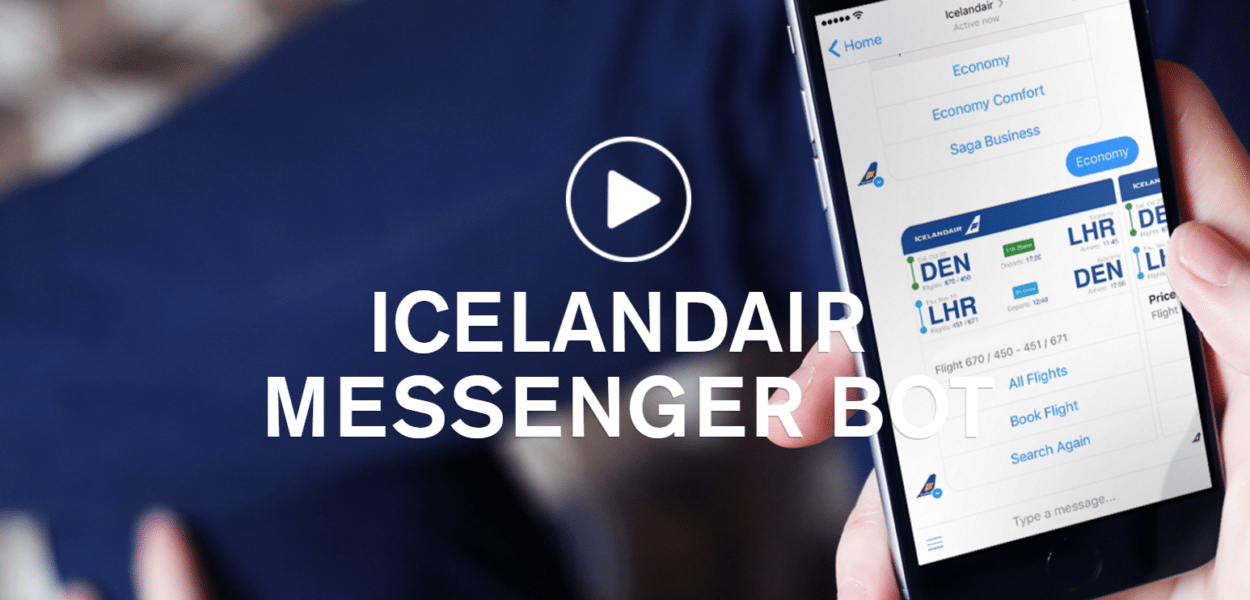 icelandair messenger bot