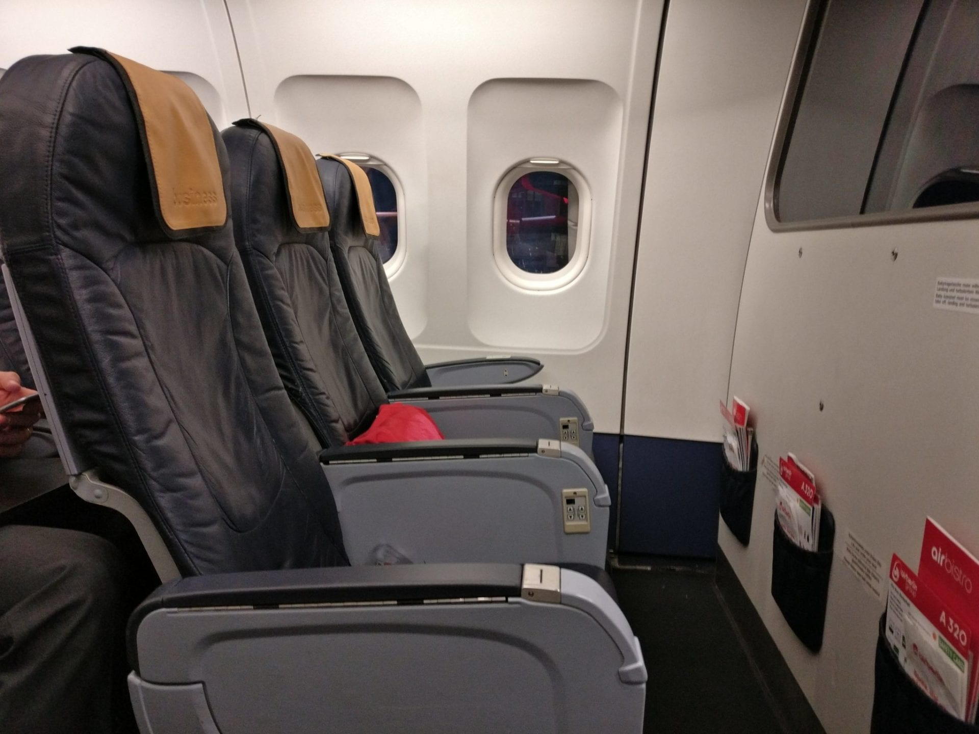 Review: airberlin Business Class Kurzstrecke - was wurde angeboten?