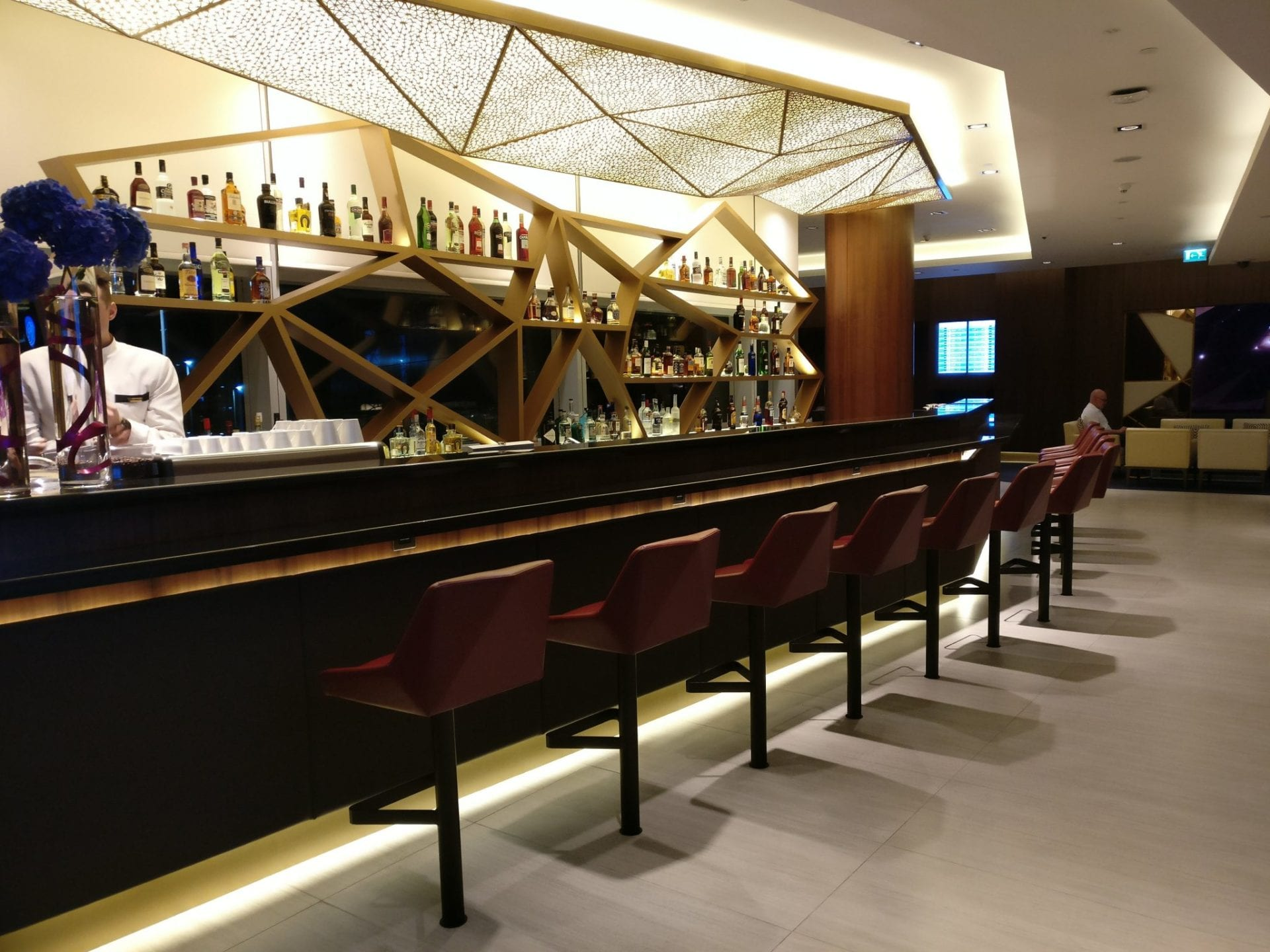 Etihad Airways First Class Lounge Abu Dhabi