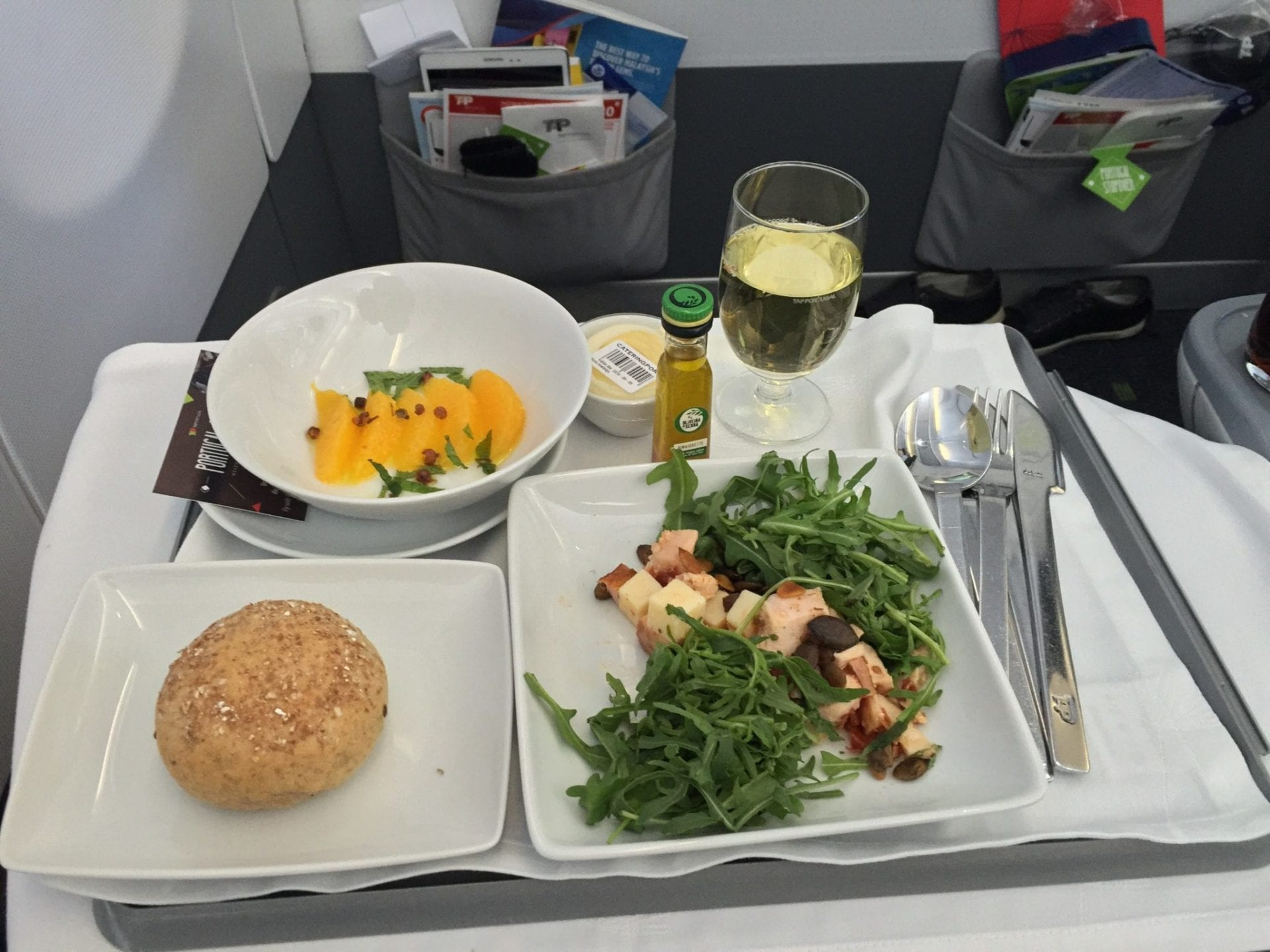 TAP Portugal Business Class A330 Essen