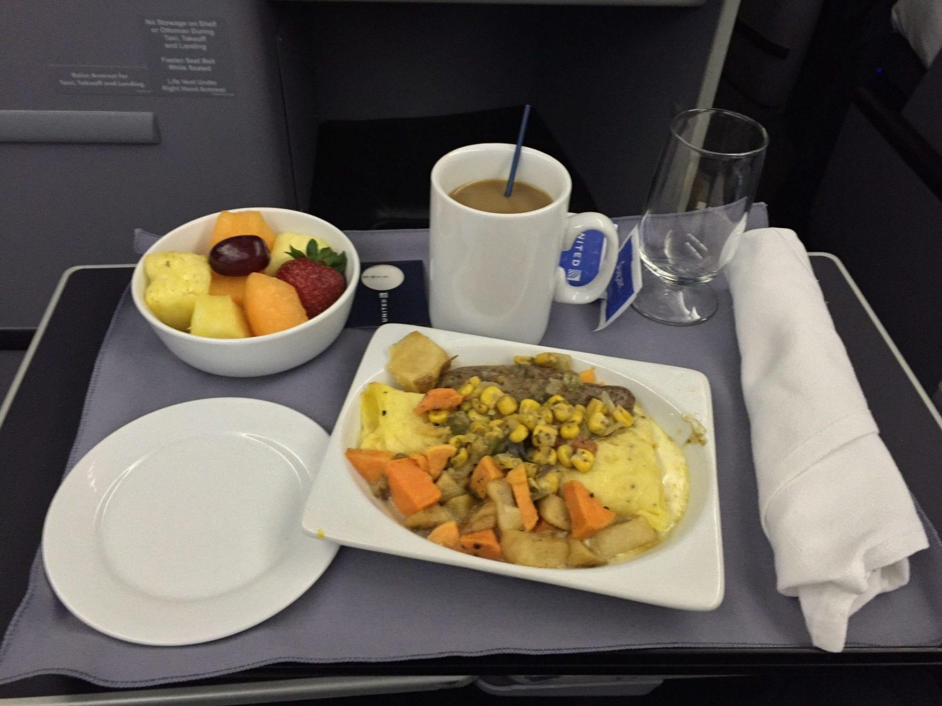 United Airlines Boeing 767 Essen