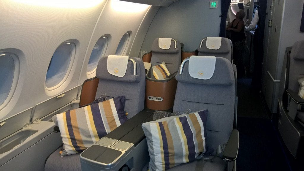 Membership Rewards Lufthansa Business Class