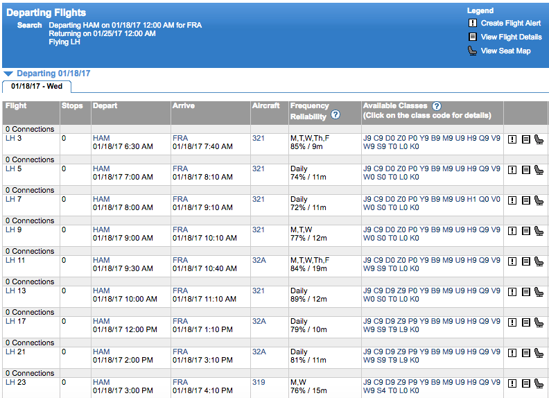 experflyer availability