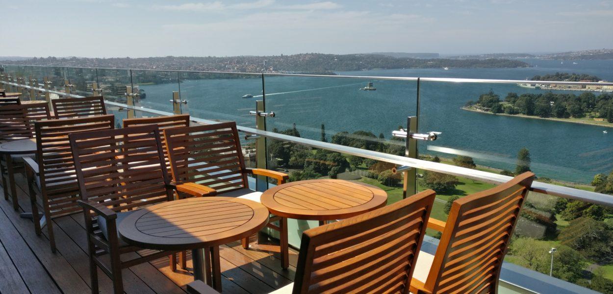 intercontinental syndey club terrace