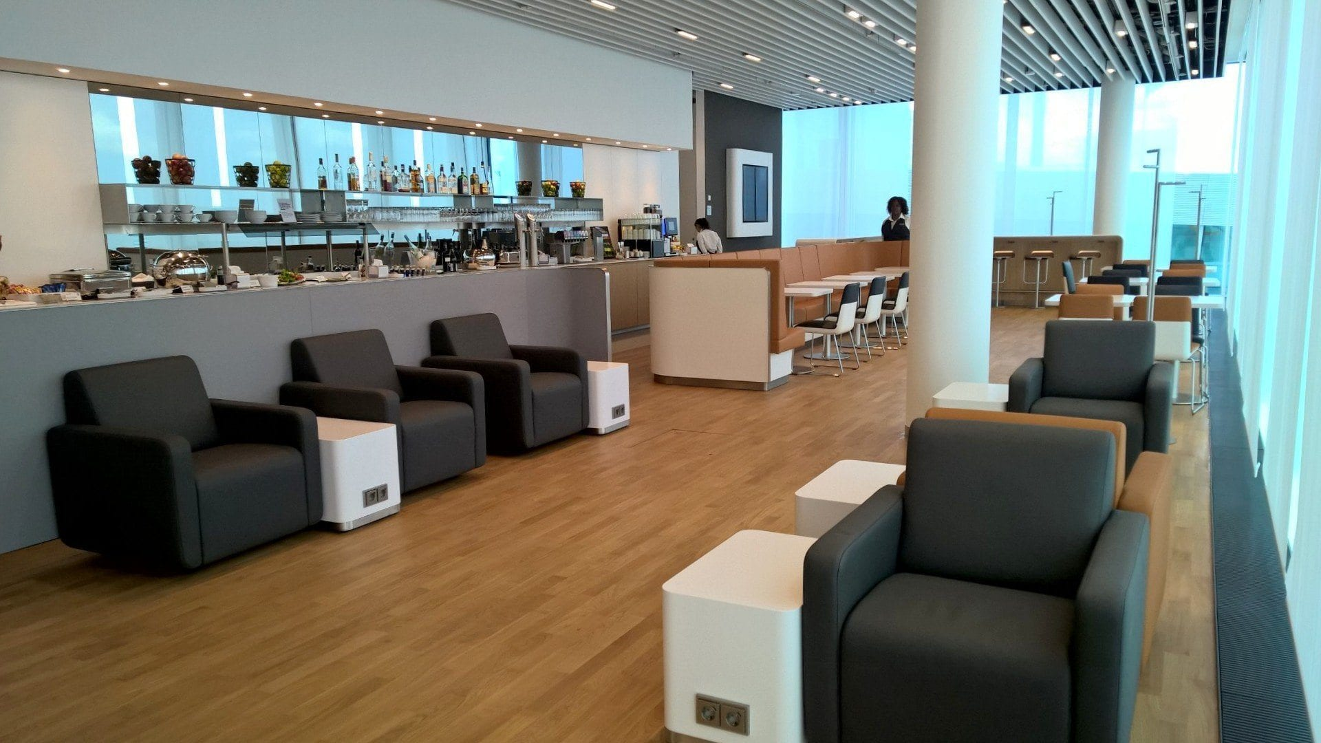 Lufthansa Business Lounge Schengen Satellite