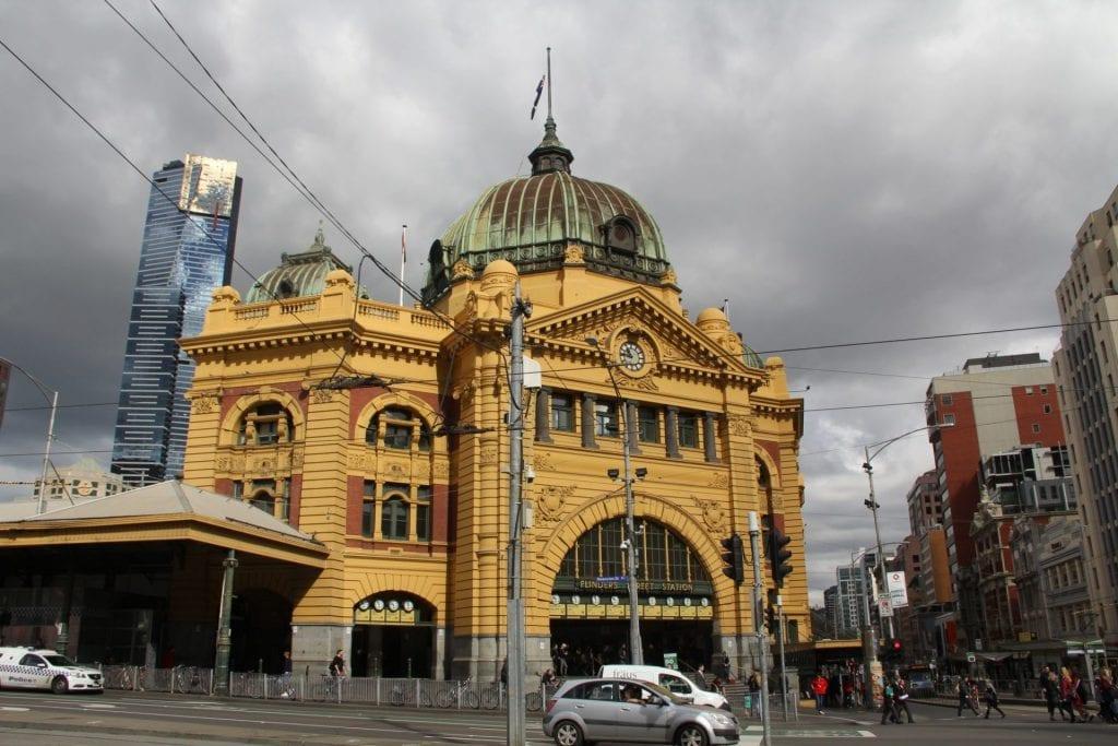 Melbourne Flinders Station