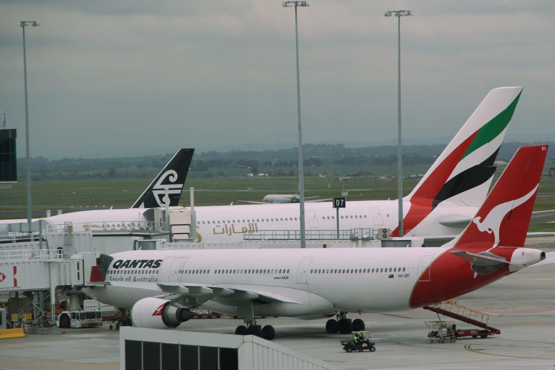 Auf Strecken von Europa nach Australien arbeiten Emirates und Qantas eng zusammen