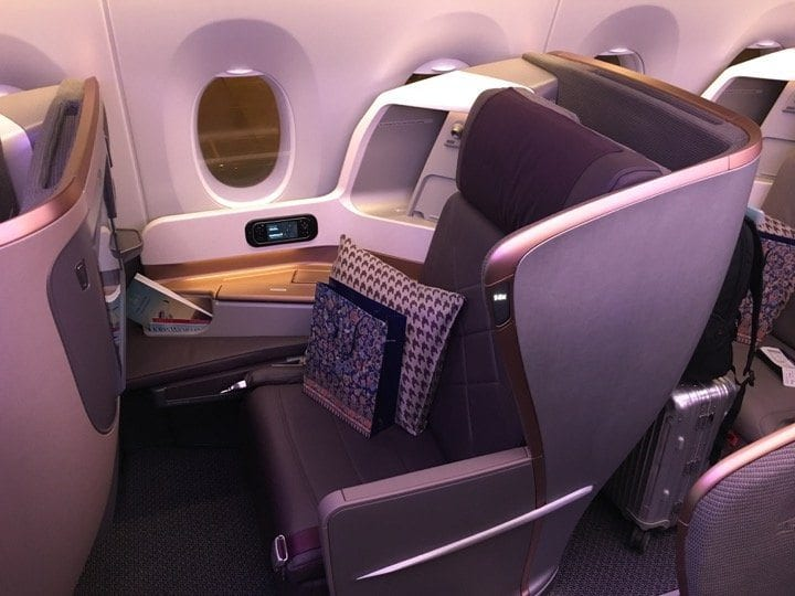 singapore airlines airbus a350 business class