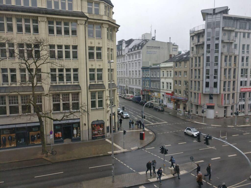 Reichshof Hamburg One Bedroom Suite View