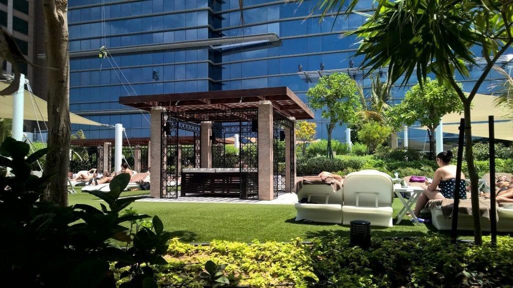 Conrad Dubai Garten