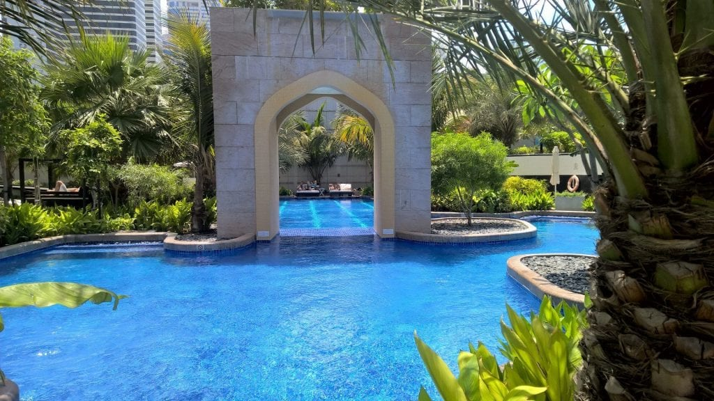 Conrad Dubai Pool