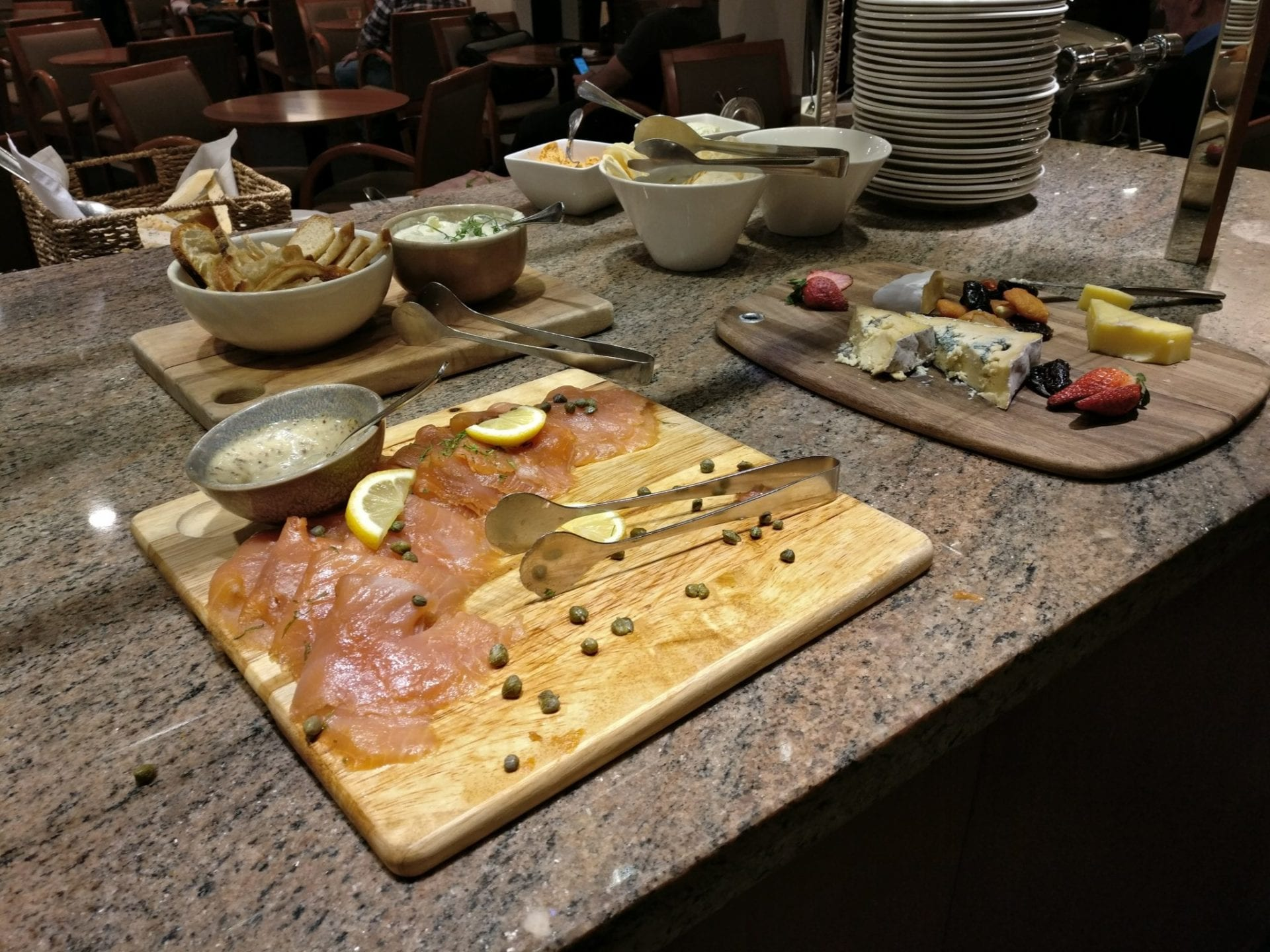 Hilton Adelaide Executive Lounge Dinner