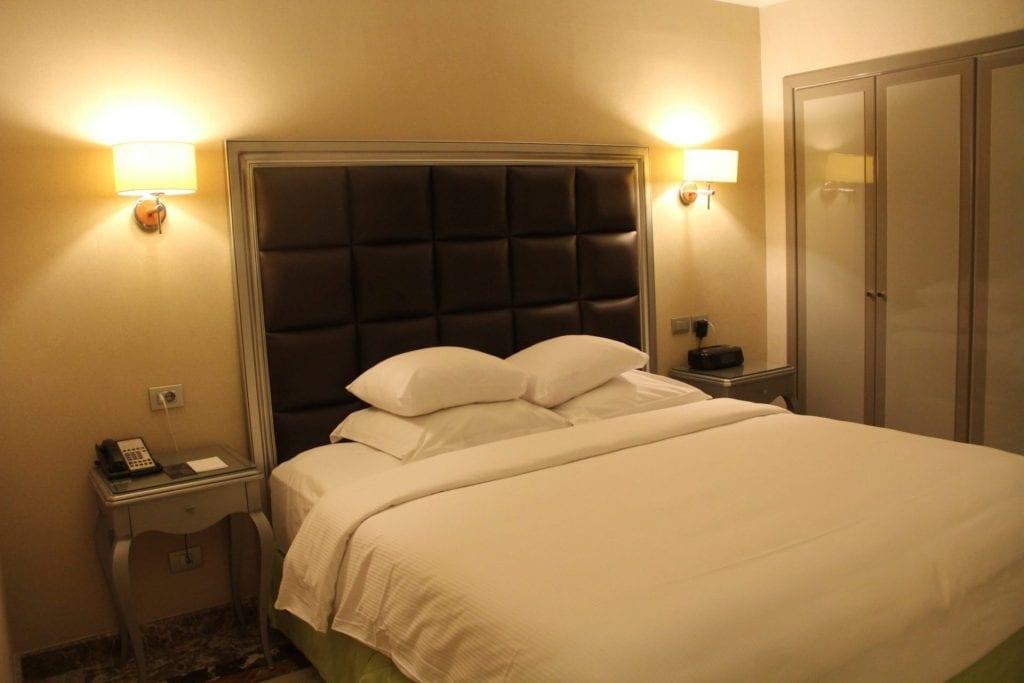 hilton alexandria corniche mediterranean suite bedroom