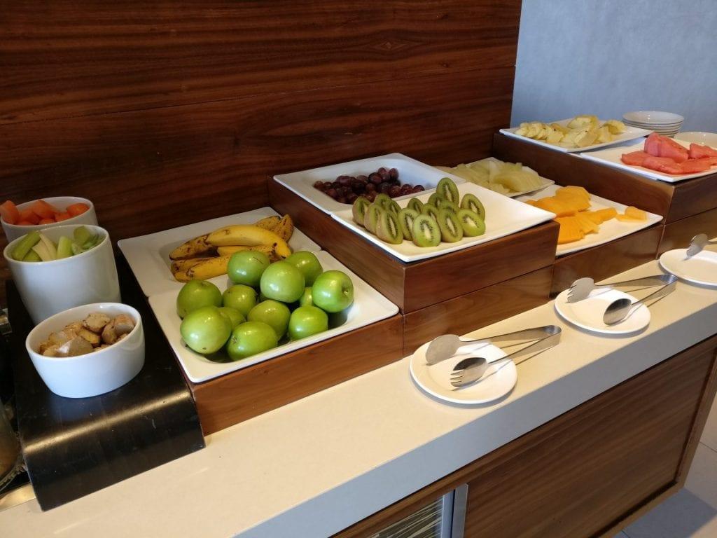 Hilton Brisbane Lounge Frühstück