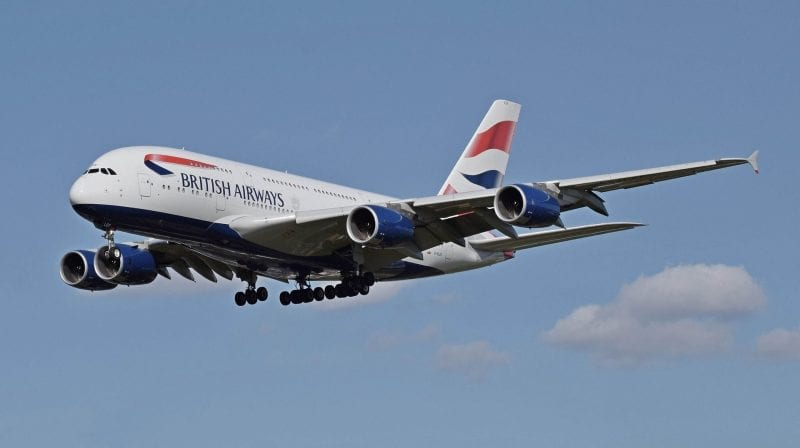 airbus a380 british airways
