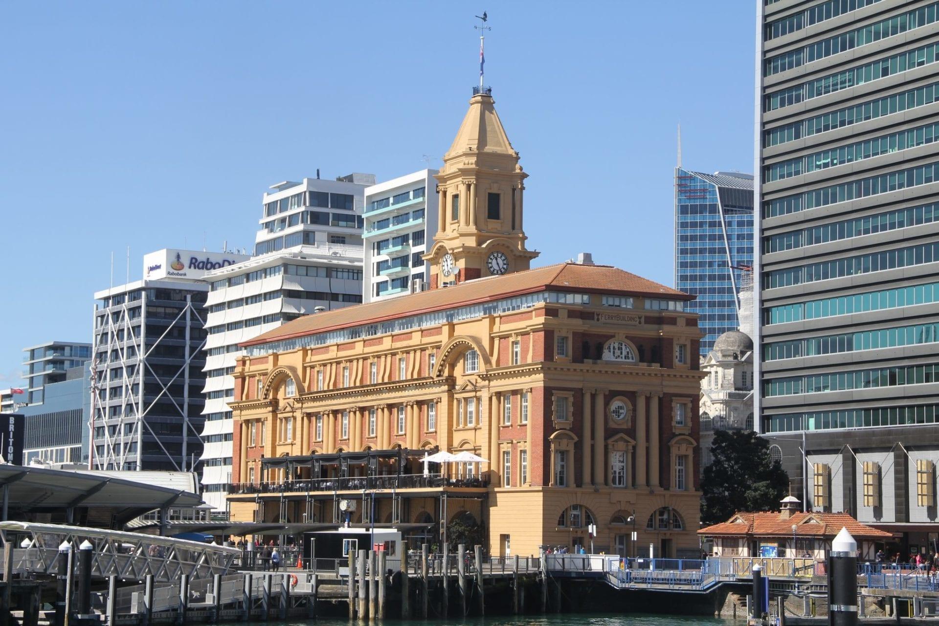 Auckland Dilworth Gebäude