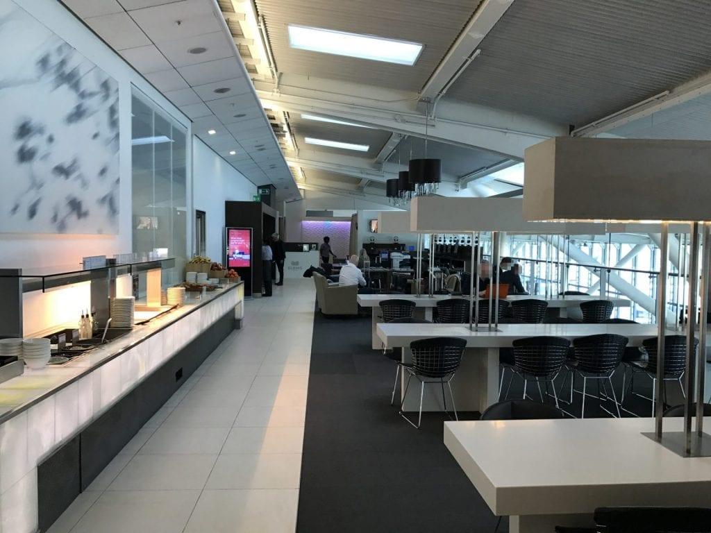 british airways galleries lounge london heathrow terminal 5b essenbereich