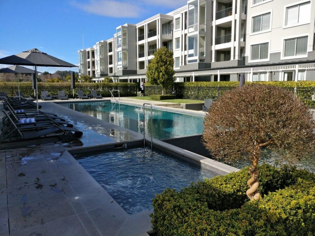 Hilton Lake Taupo Pool