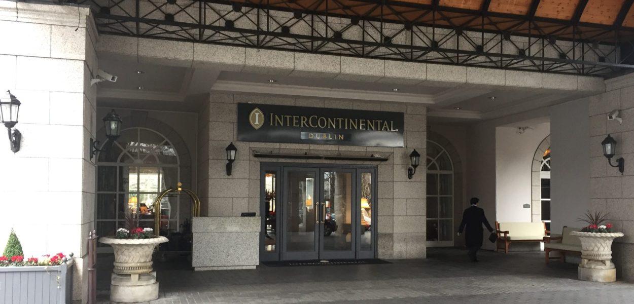 intercontinental dublineingang