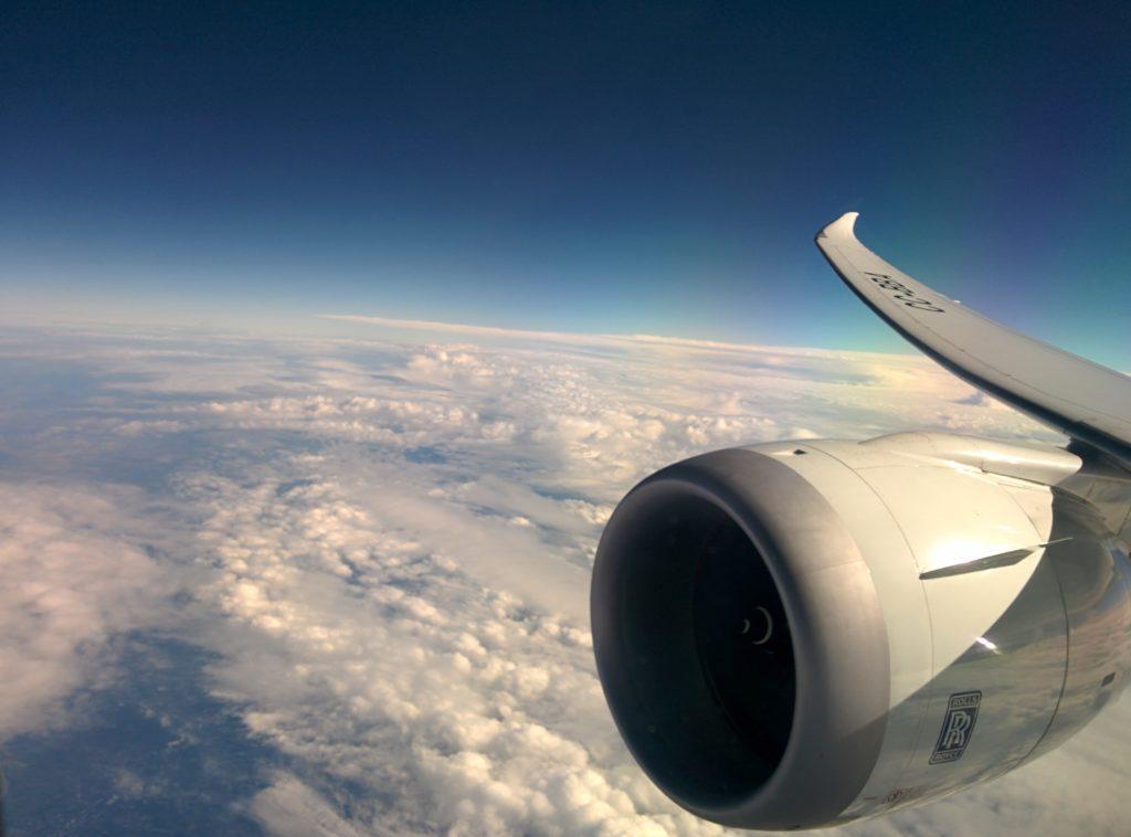 LAN Dreamliner Flügel