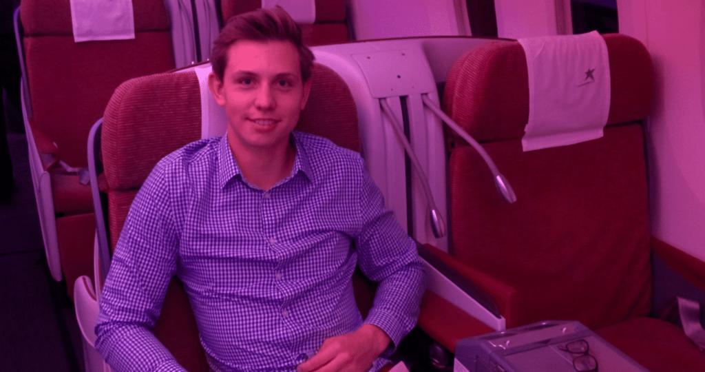 LAN LATAM Business Class Dreamliner Sitz