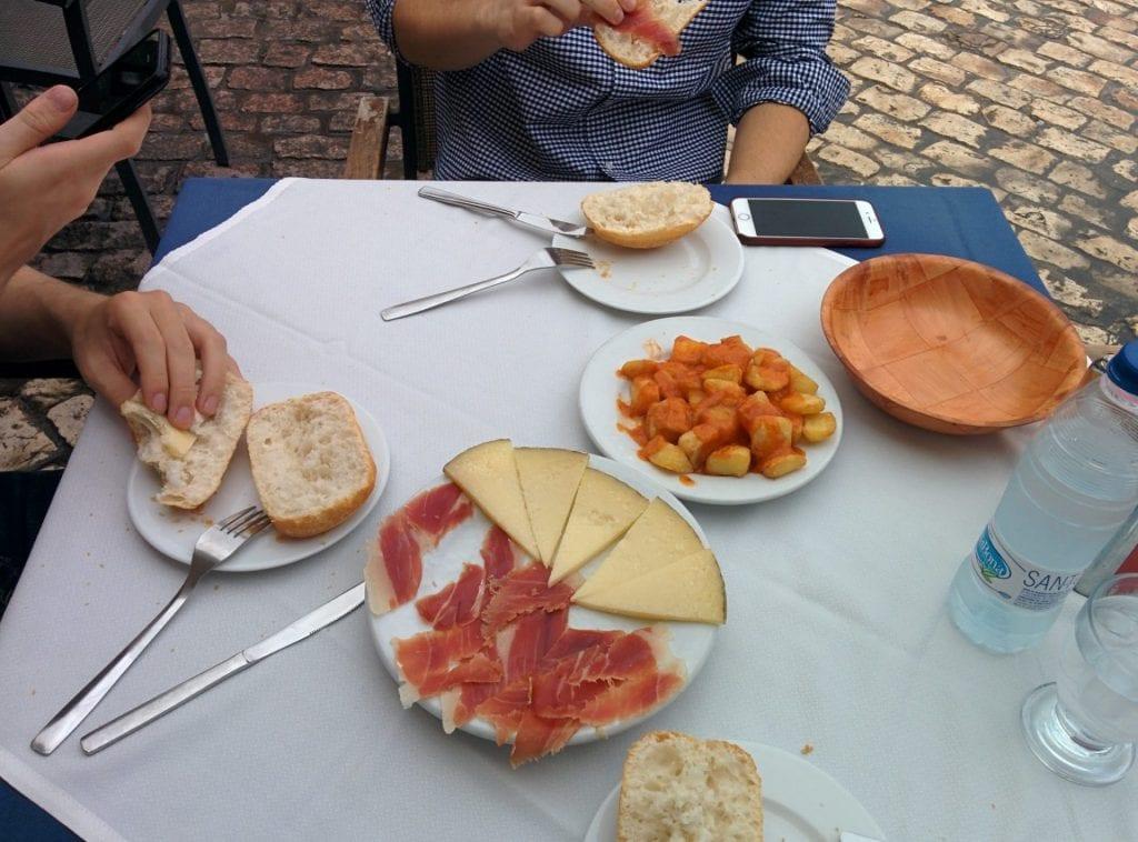 Madrid Stadt Zentrum Essen