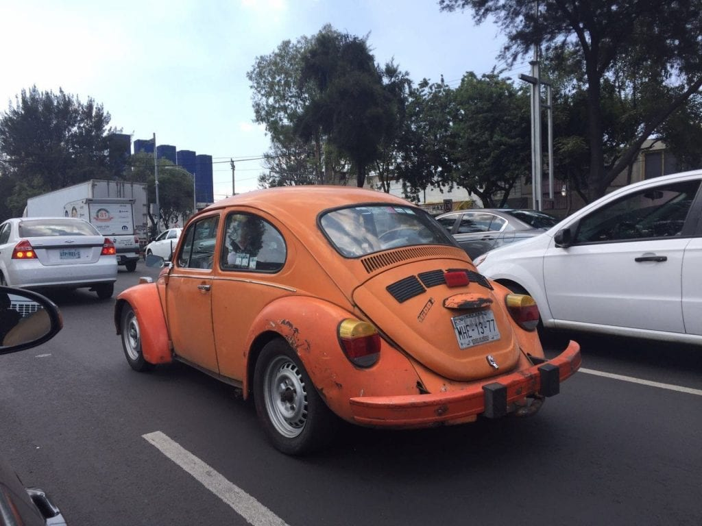 mexiko city verkehr autos