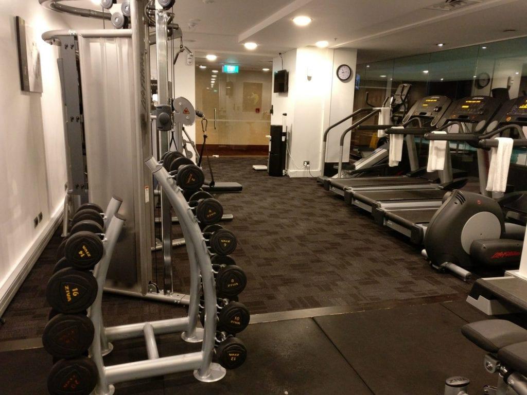 Sofitel Auckland Gym