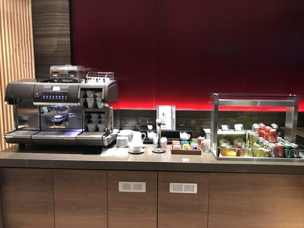 Air Canada Maple Leaf Lounge London Heathrow Buffet 5