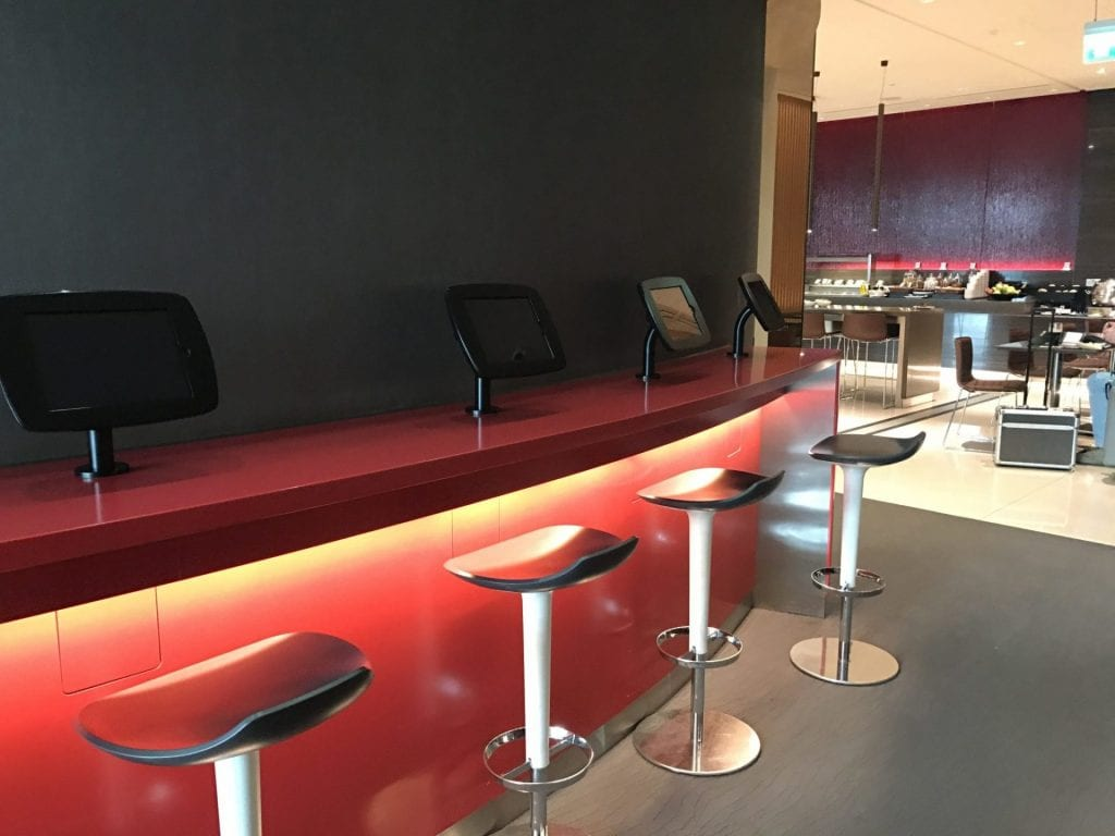 Air Canada Maple Leaf Lounge London Heathrow Entertainment 2