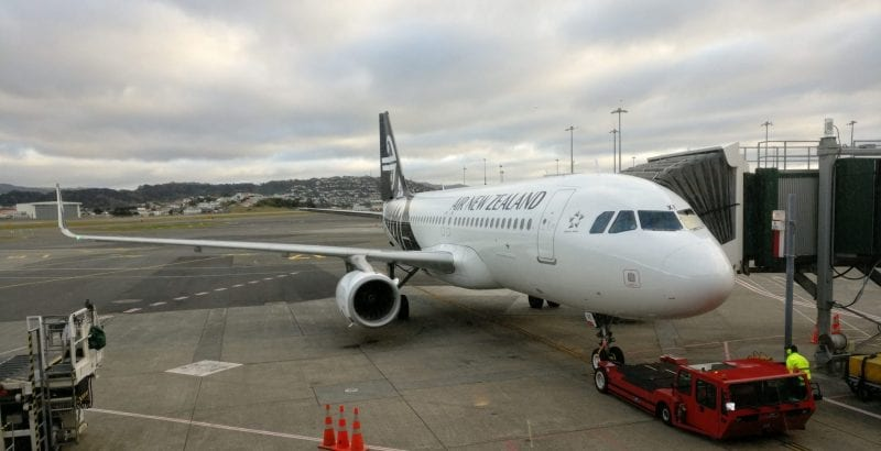 Air New Zealand Economy The Works Food