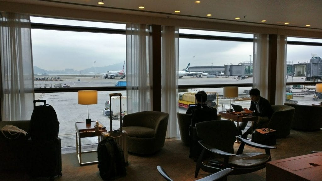cathay pacific the pier first class lounge hong kong loungearea 2