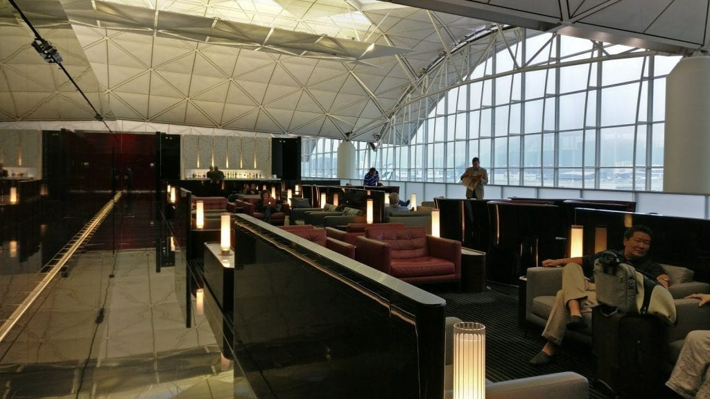 cathay pacific the wing first class lounge hong kong lounge area 4