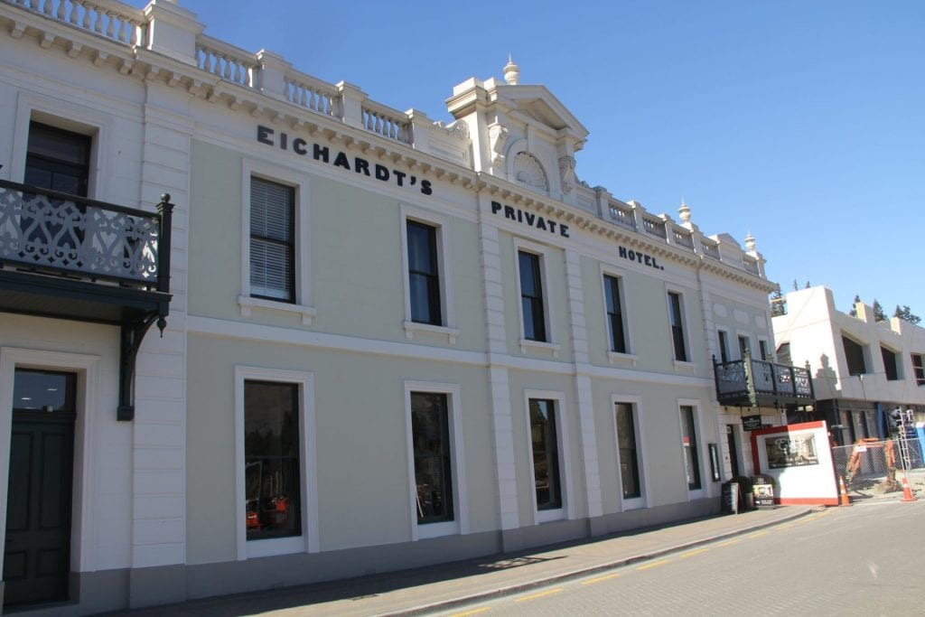 Eichardt's Private Hotel Queenstown Exeterior