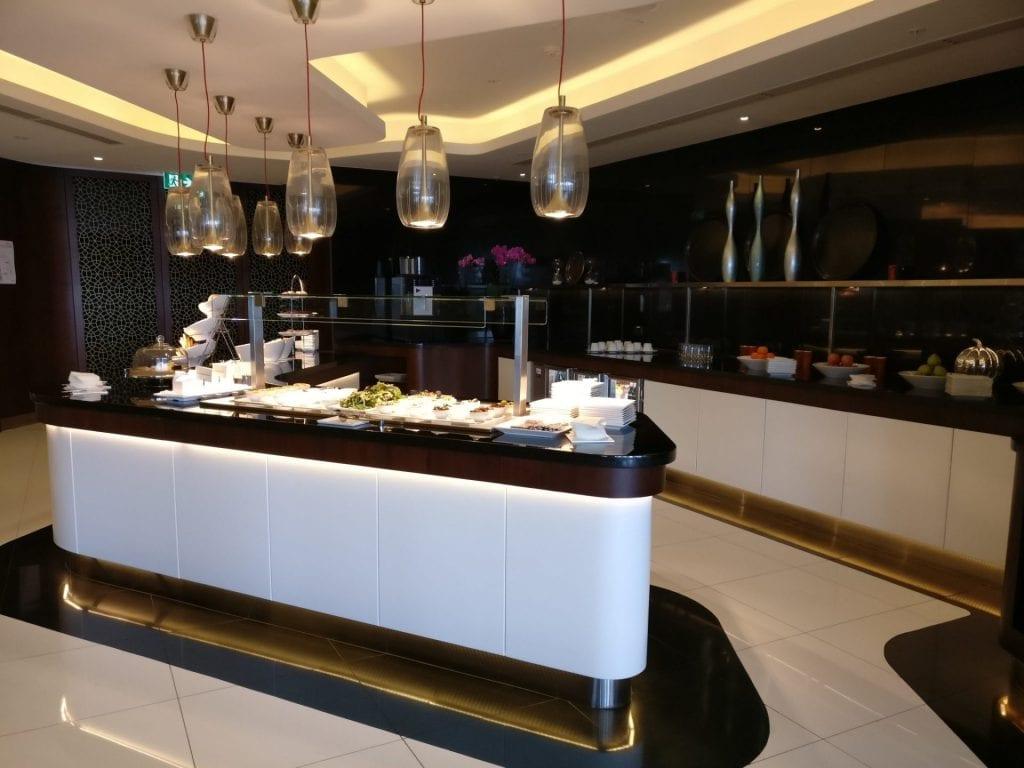 Etihad Lounge Sydney Buffet