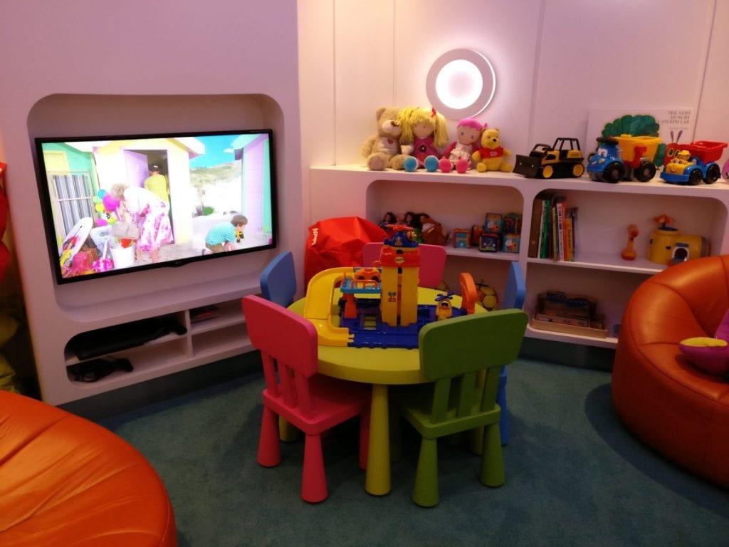 Etihad Lounge Sydney Spielzimmer