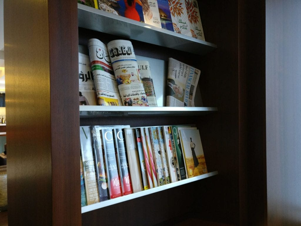 Etihad Lounge Sydney Magazine