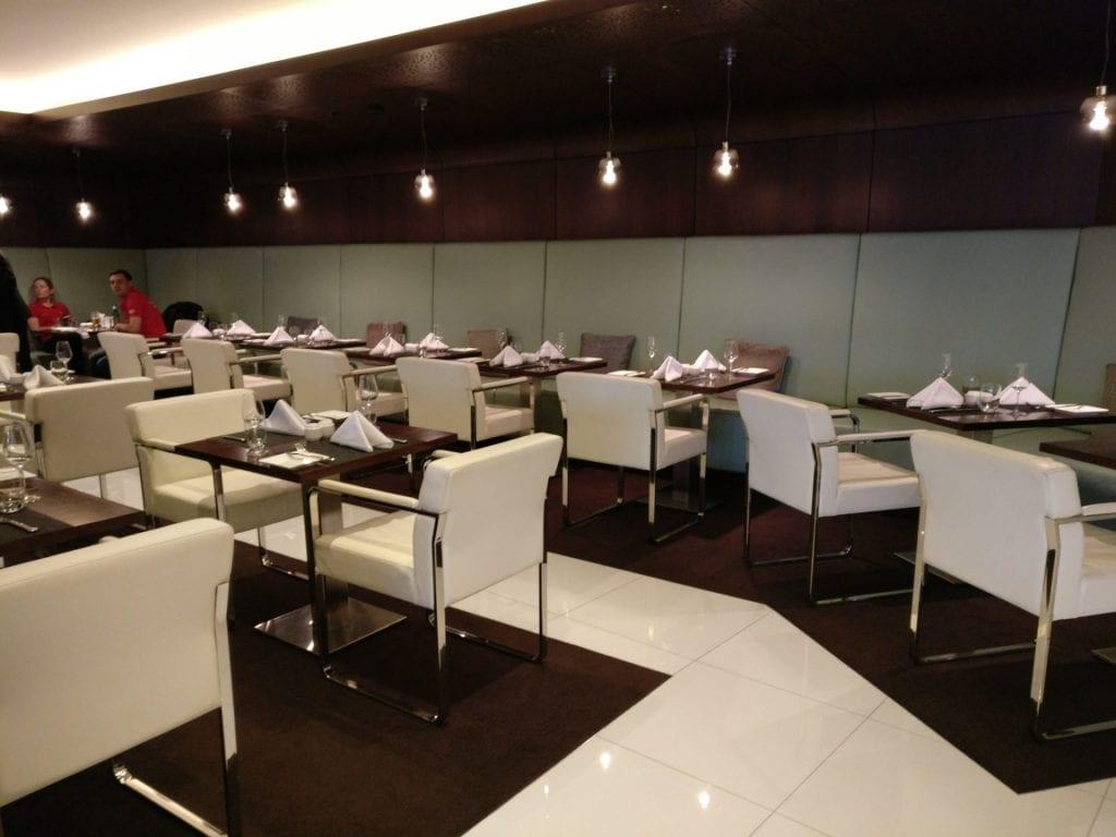 Etihad Lounge Sydney Ausstattung