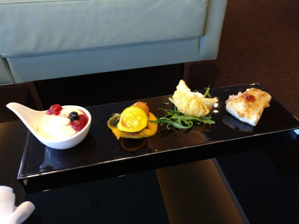 Etihad Lounge Sydney Snack