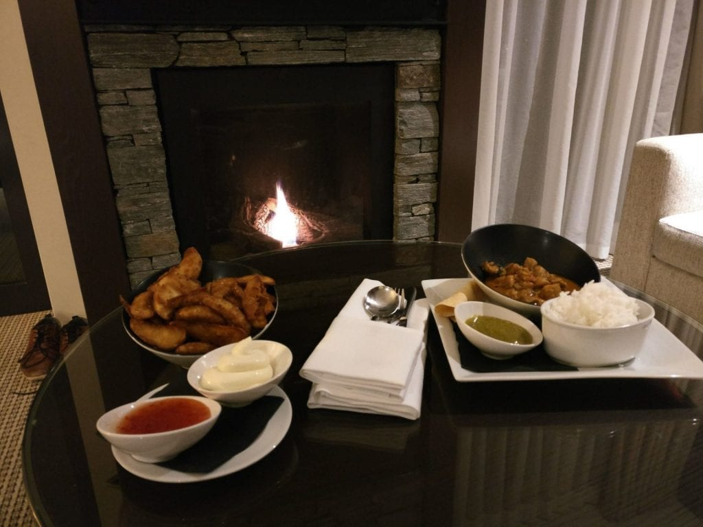 Hilton Queenstown Room Service