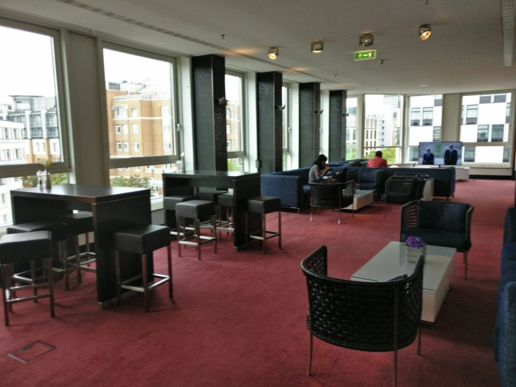 InterContinental Berlin Club Lounge
